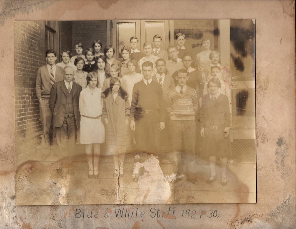 Blue & White Staff082