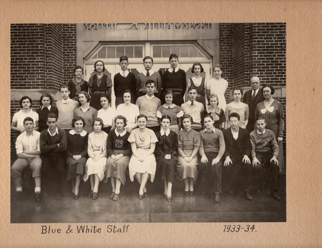 Blue & White Staff083