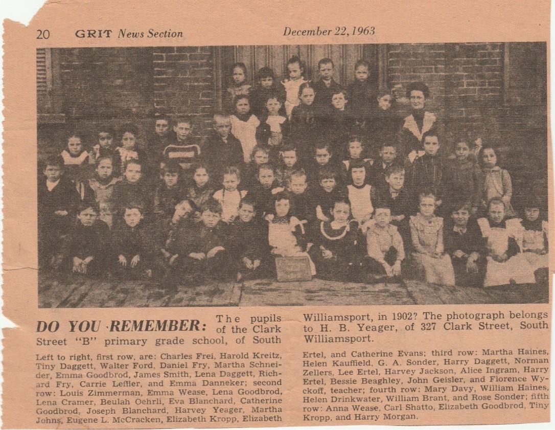 Clark St. Primary School 1902