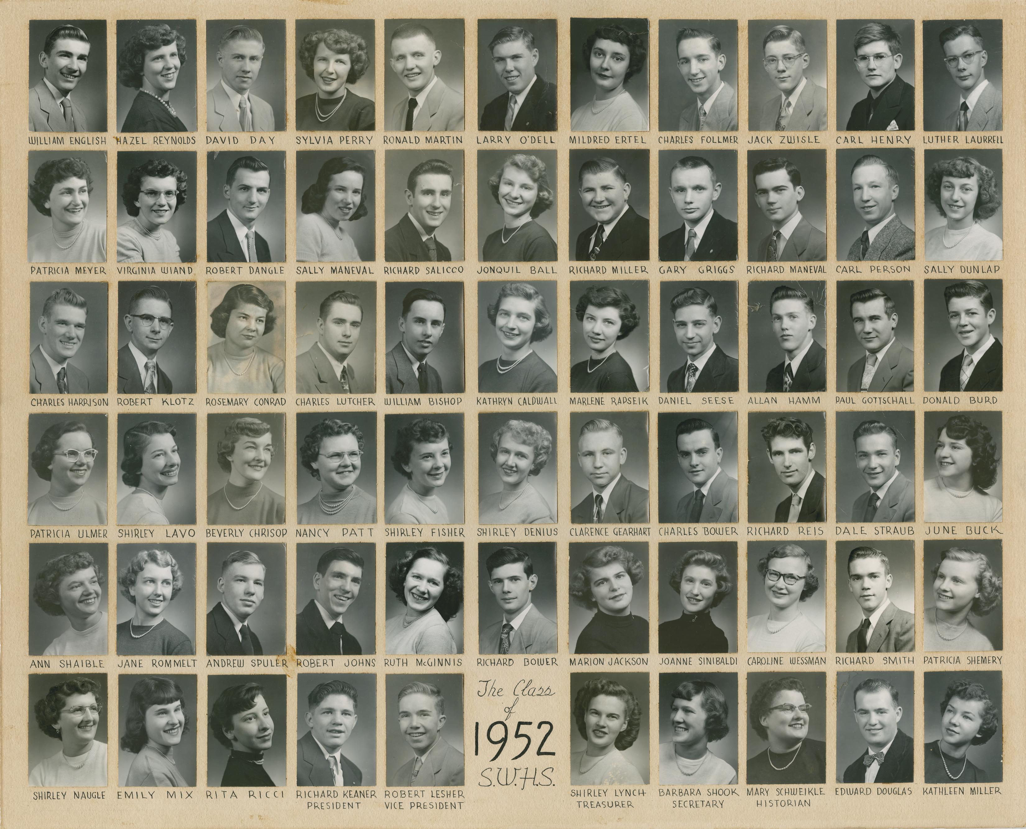 Class of 1952