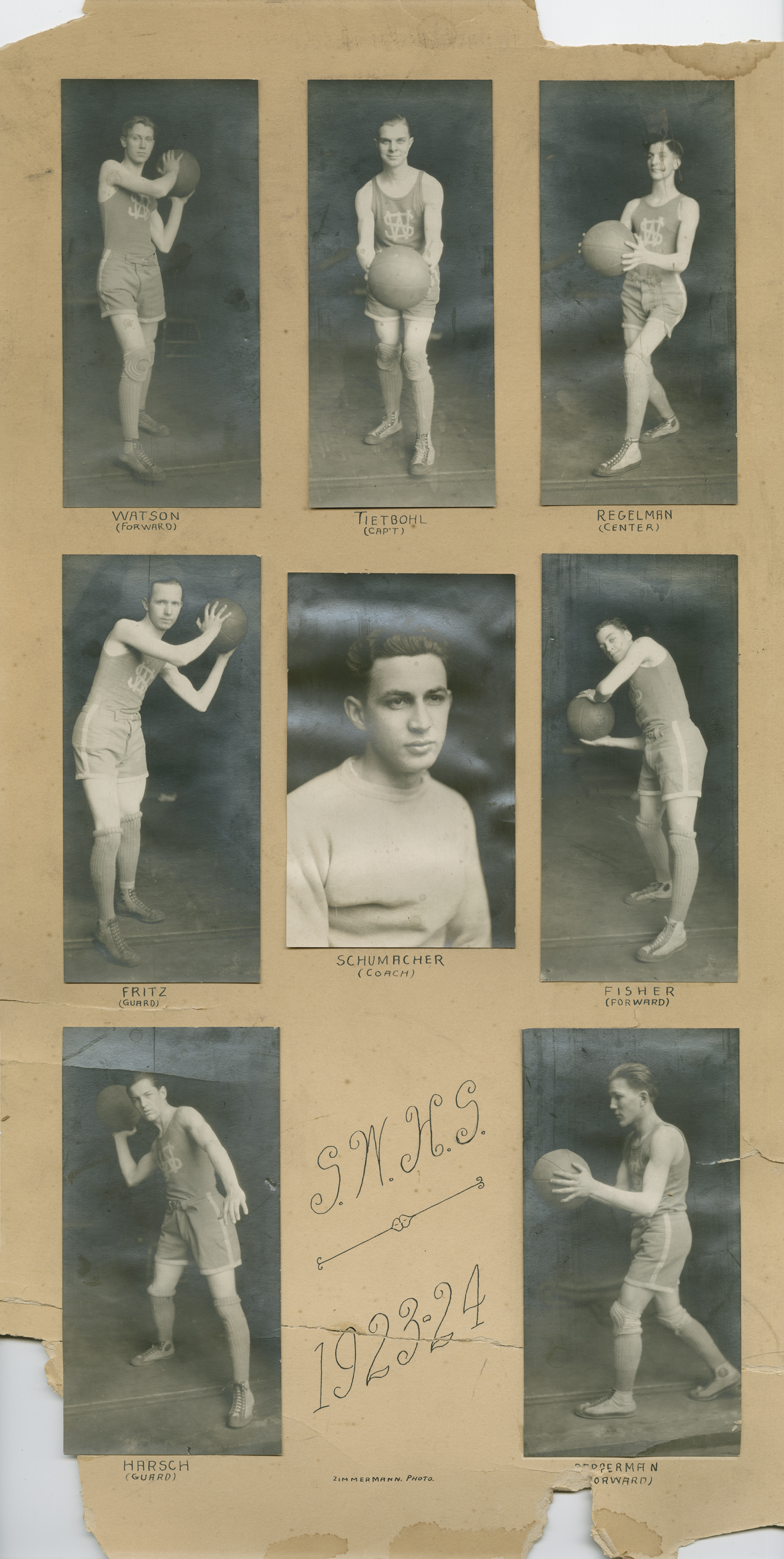 Mens Basketball 1923-24