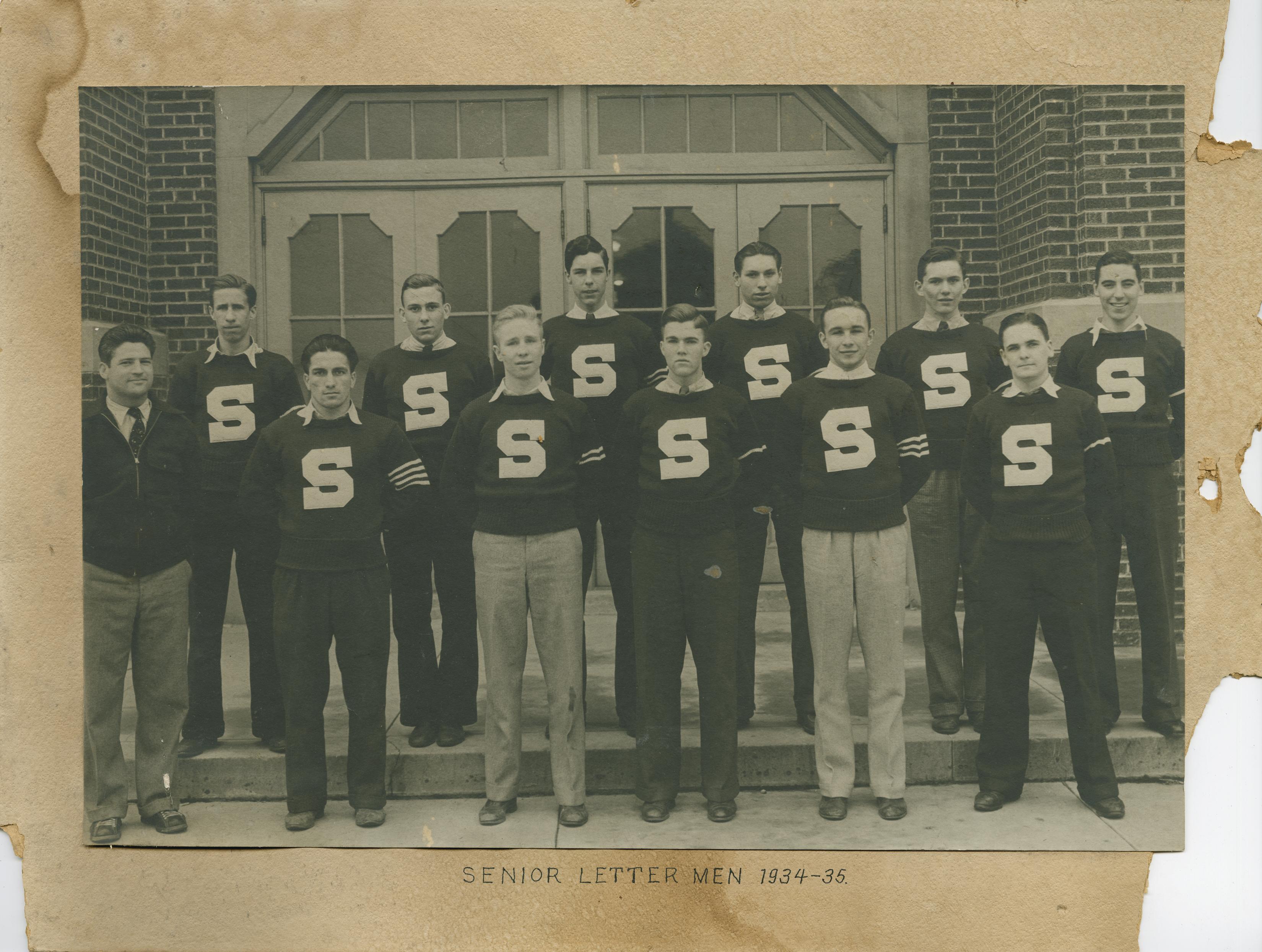 Senior Lettermen 1934-35