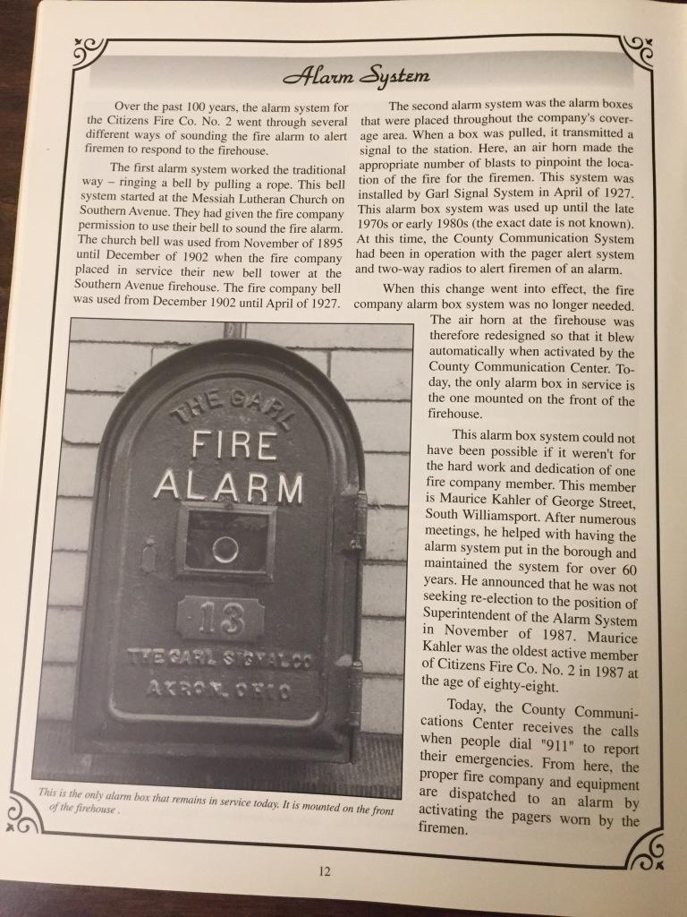 Citizen Fire Company - Alarm