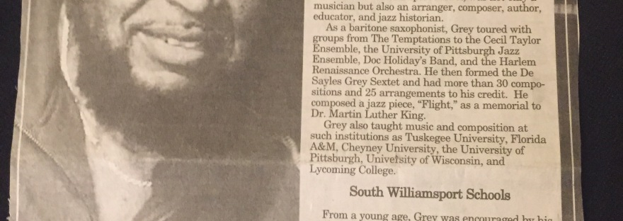 -a Gifted South Williamsport Musician